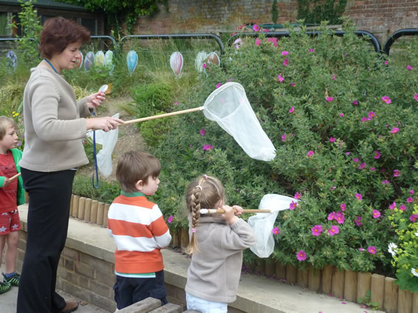 Christ Church Pre-School Playgroup Forest School 2015