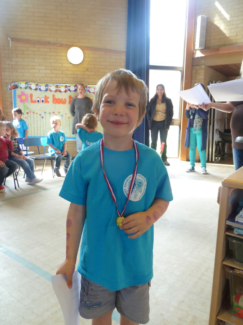 Christ Church Pre-School Playgroup - On your bike fundraising 2015