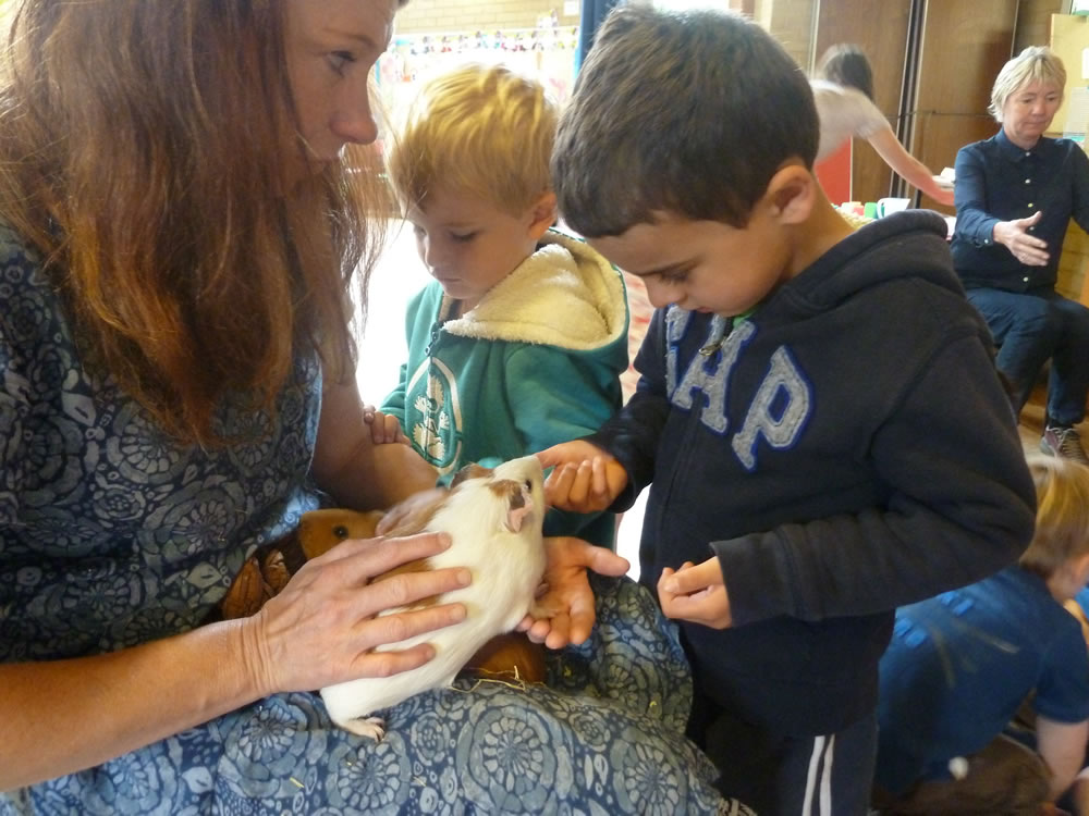 Christ Church Pre-School Playgroup Pets Week