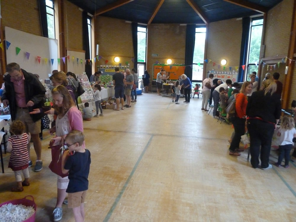 Christ Church Pre-School Playgroup Summer Fair 2015